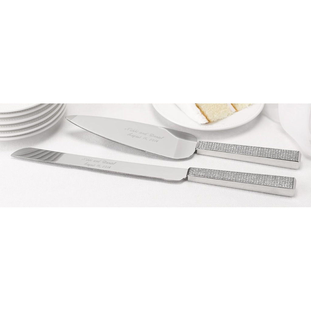 Diamond Dust Serving Set