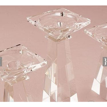 Dual Purpose Crystal Candle Holder
