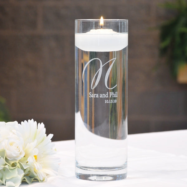 Elegance Floating Unity Candles