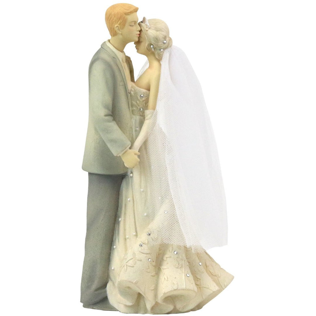 Foundations ® Everlasting Love Bride and Groom Wedding Cake Topper Figurine