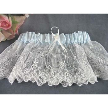 French Lace Wedding Garter