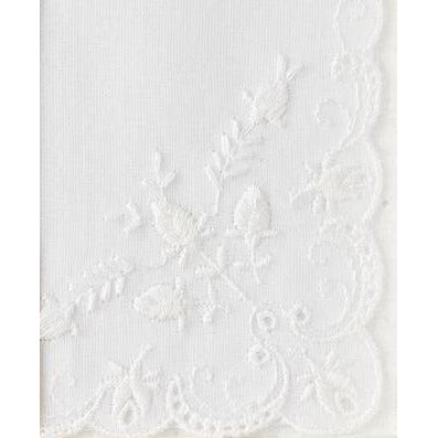 Personalized From The Bride to her Maid of Honor Wedding Handkerchief