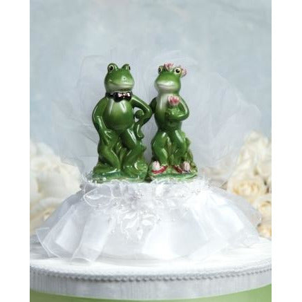 Funny Frog Prince Cake Topper