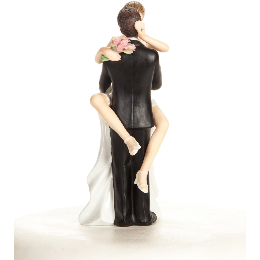 """Funny Sexy"" Wedding Bride and Groom Cake Topper Figurine"