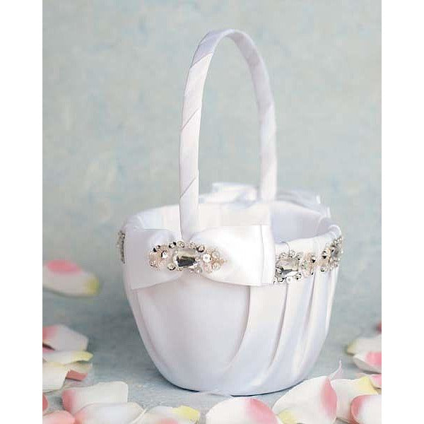 Glam Wedding Flowergirl Basket