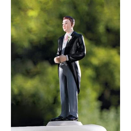 Groom in Traditional Morning Suit Figurine
