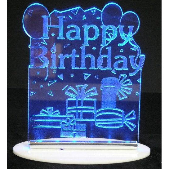 Happy BirthdayIII Light-Up Cake or Table Topper