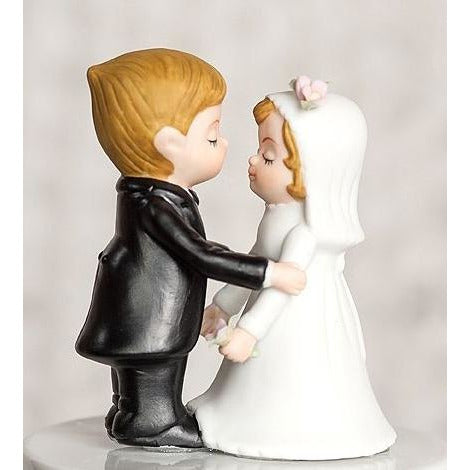 Cute Bride and Groom Wedding Figurine