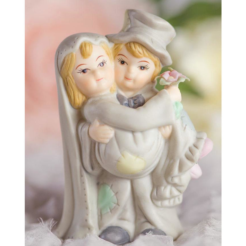 Hobo Wedding Cake Topper
