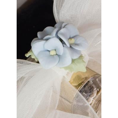 Hydrangea Bouquet Wedding Cake Server Set