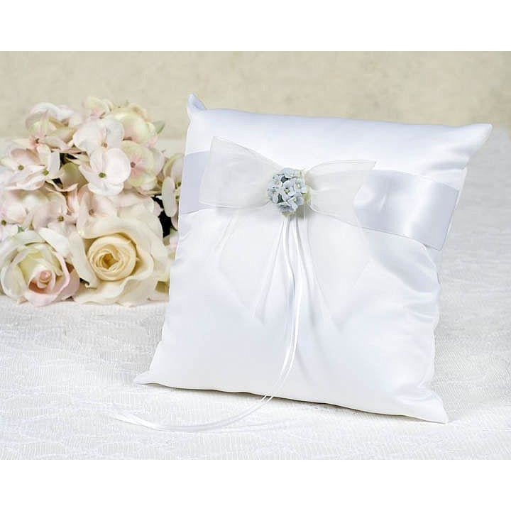 Hydrangea Bouquet Wedding Ring Bearer Pillow