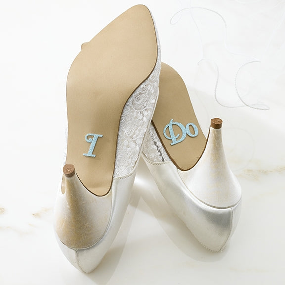 """I Do"" Shoe Stickers"