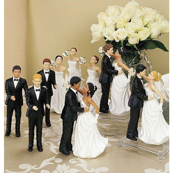 Interchangeable Ethnic Grooms