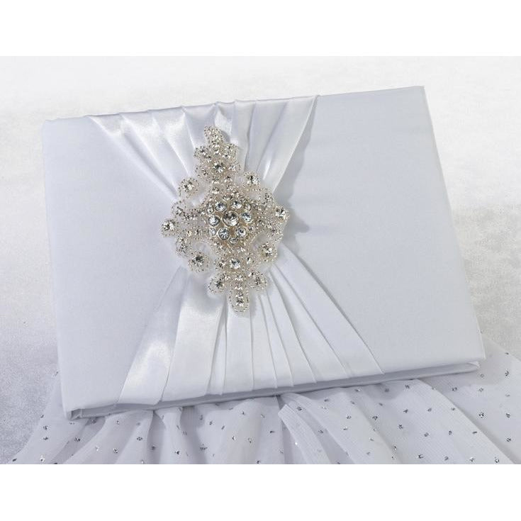 Jeweled Motif Guest Book