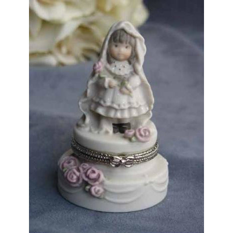 "Kim Anderson's Pretty as a Picture ® ""Promises of Love"" Bride Wedding Ring Box"