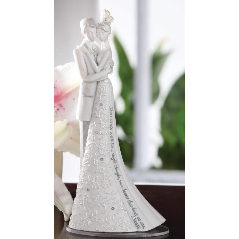 Language of Love Forever Wedding Cake Topper Figurine