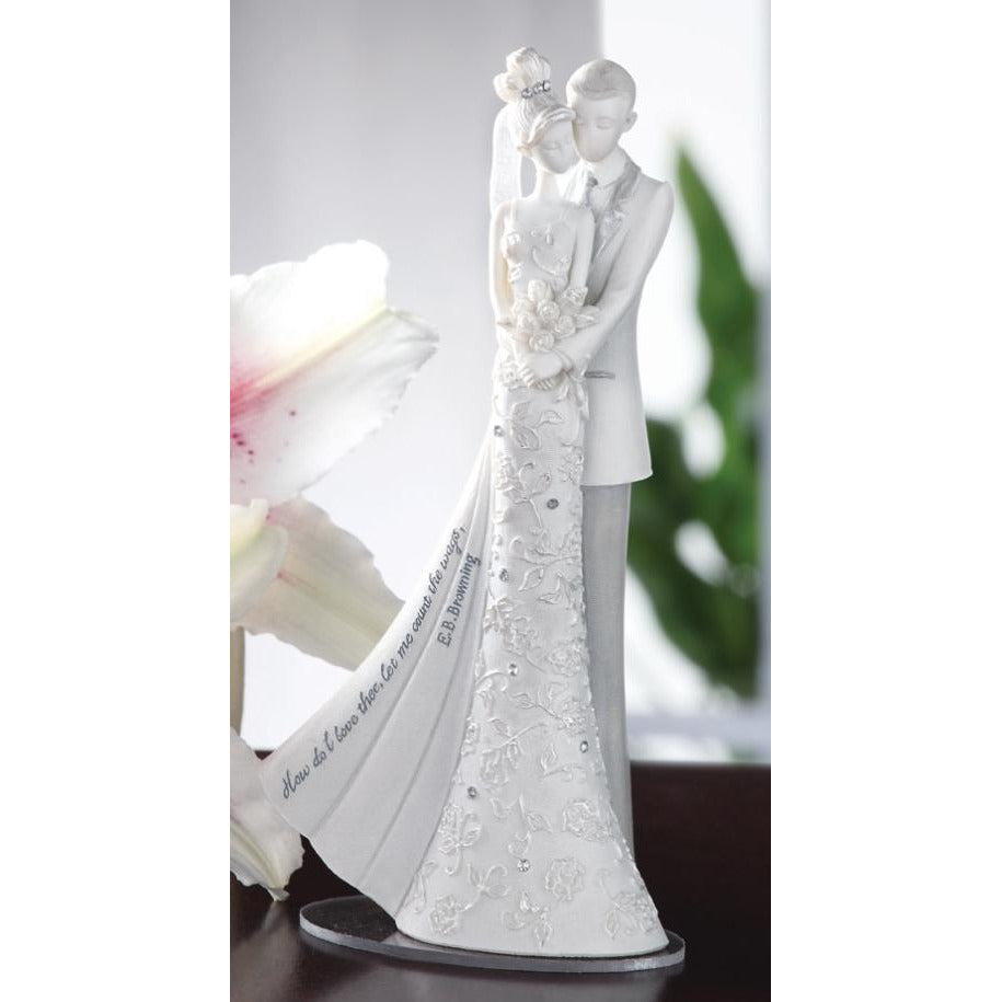 Language of Love My Love Wedding Cake Topper Figurine