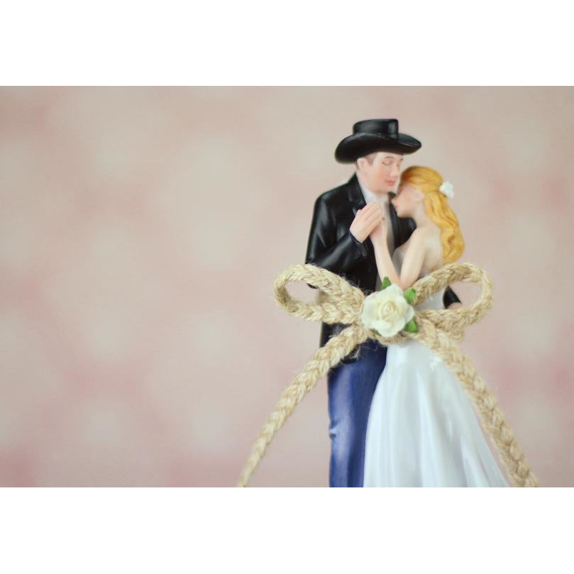 Lasso of Love Western Wedding Cake Topper