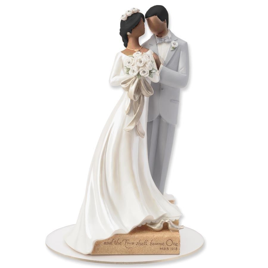 Legacy of Love African American Wedding Cake Topper Figurine