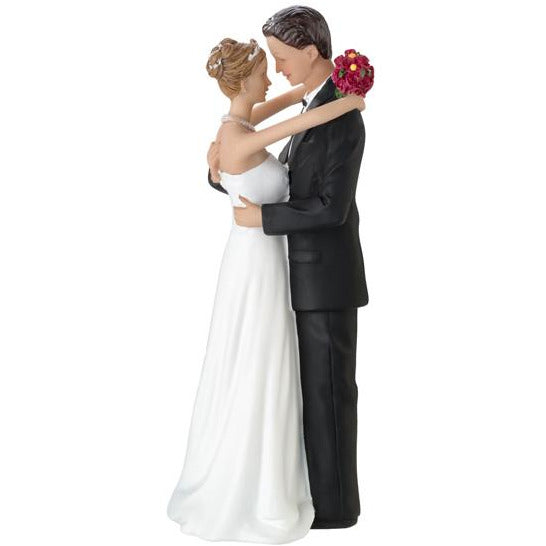 Caucasian Couple Figurine