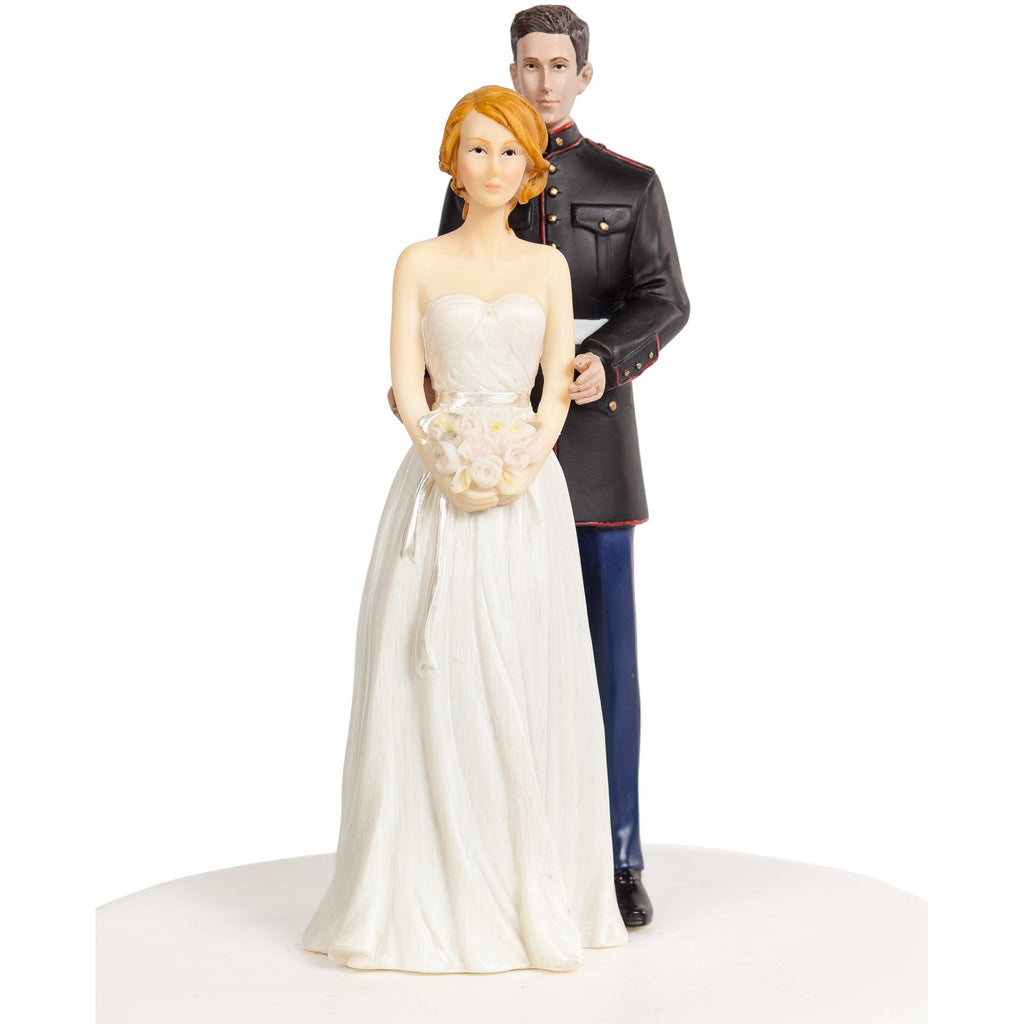 Marine Corps Wedding Cake Topper