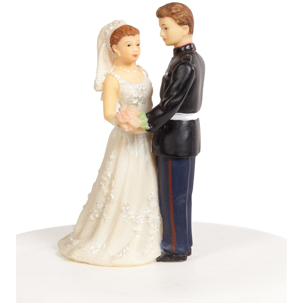 Military Marine Cake Topper Figurine