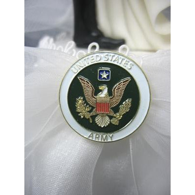"Military ""Over the Threshold"" Cake Topper- Air Force - Navy - Army - Marines"