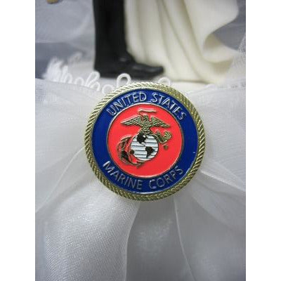 Military Sexy African American Cake Topper- Air Force - Navy - Army - Marines