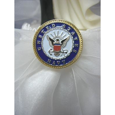Military Wedding Flowergirl Basket - Air Force - Navy - Army - Marines