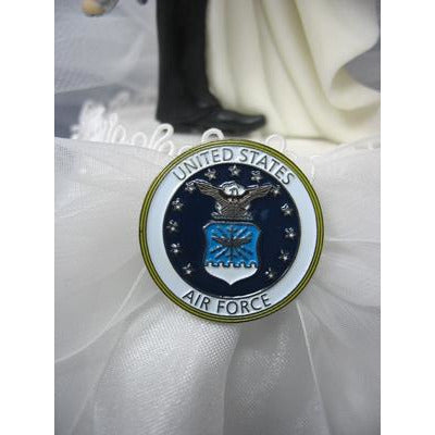 Military Wedding Garter - Air Force - Navy - Army - Marines