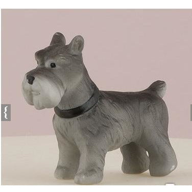 Miniature Terrier Dog Figurines