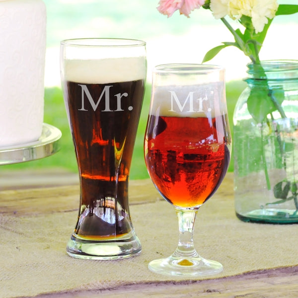 Mr. & Mr. Pilsner Set