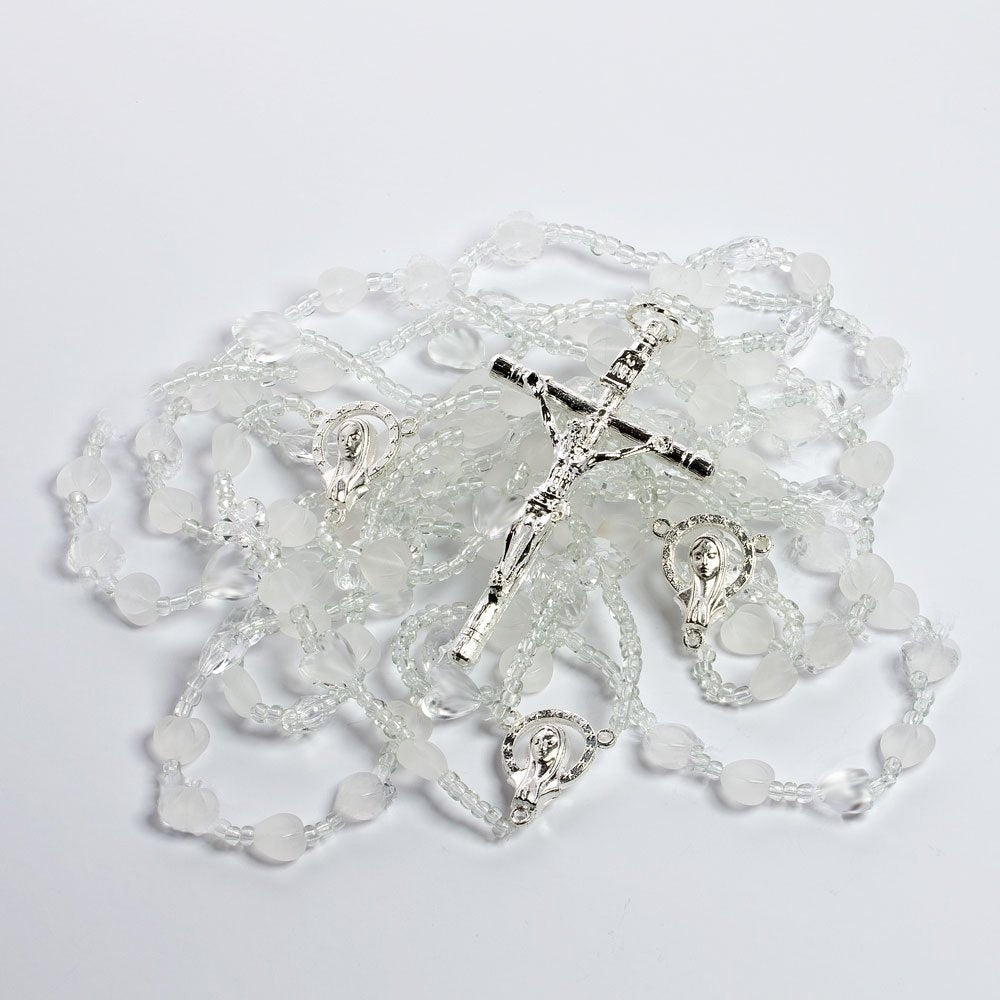 Heart Shaped Crystal Wedding Lazo - Lasso