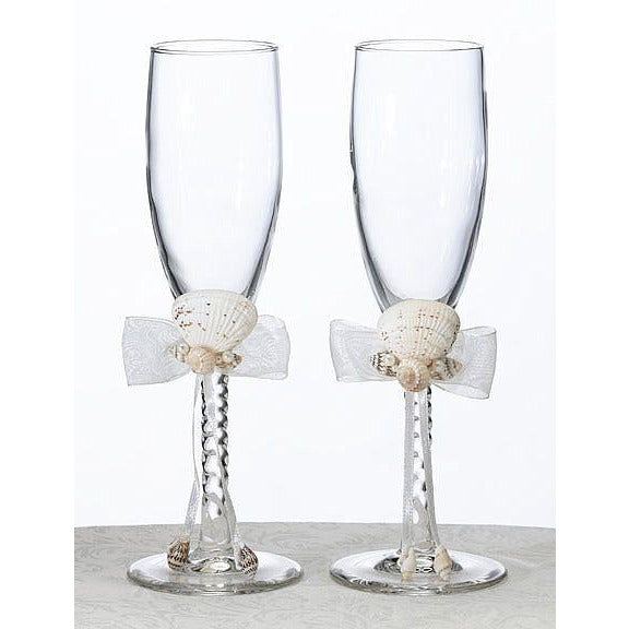 Oceans Away Toasting Glasses