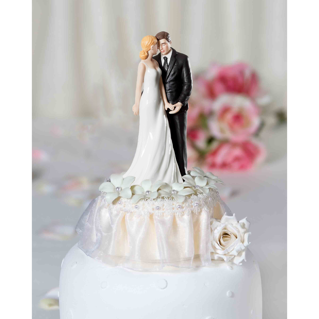Romantic Stephanotis Cake Topper
