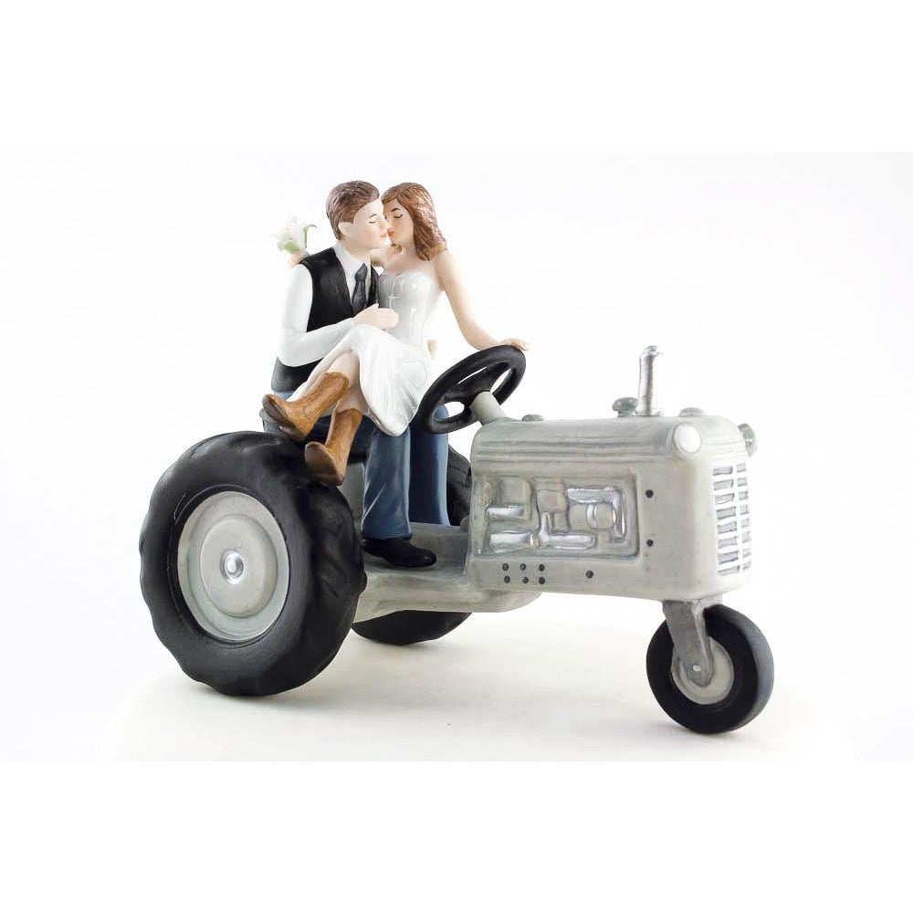Tractor Western Cake Topper