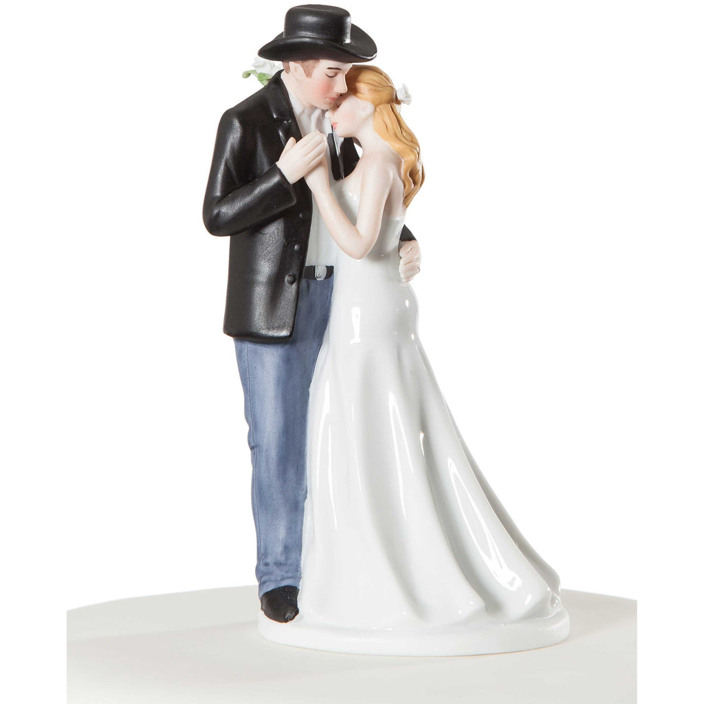 Old Fashion Lovin' Western Cake Topper