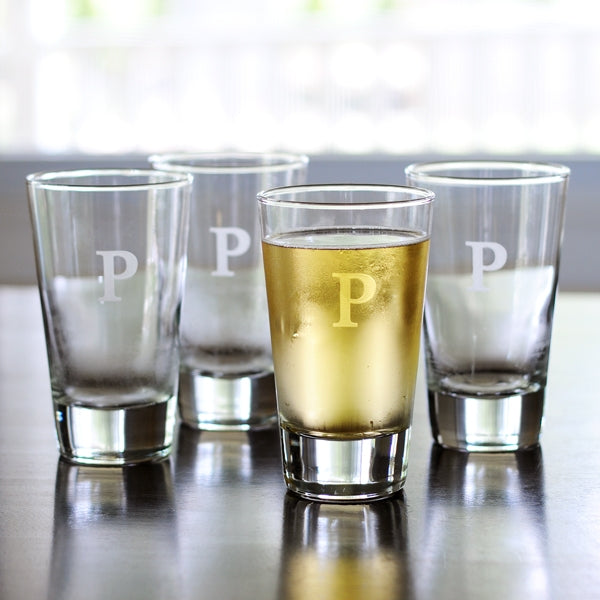 Personalized Glass Tumblers (Set of 4)