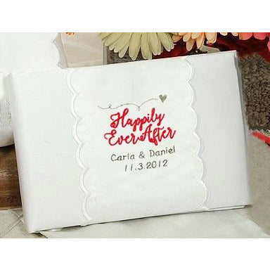 Personalized Happily Ever After Wedding Guestbook