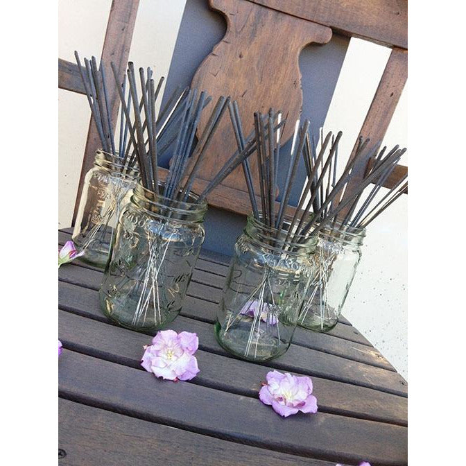 Personalized Sparkler Mason Jar Vase Collection (Set of 4) - Fits 9 Inch Sparklers