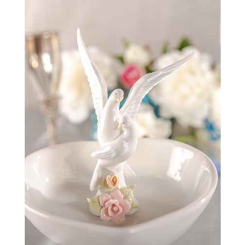 Dove Wedding Ring Dish
