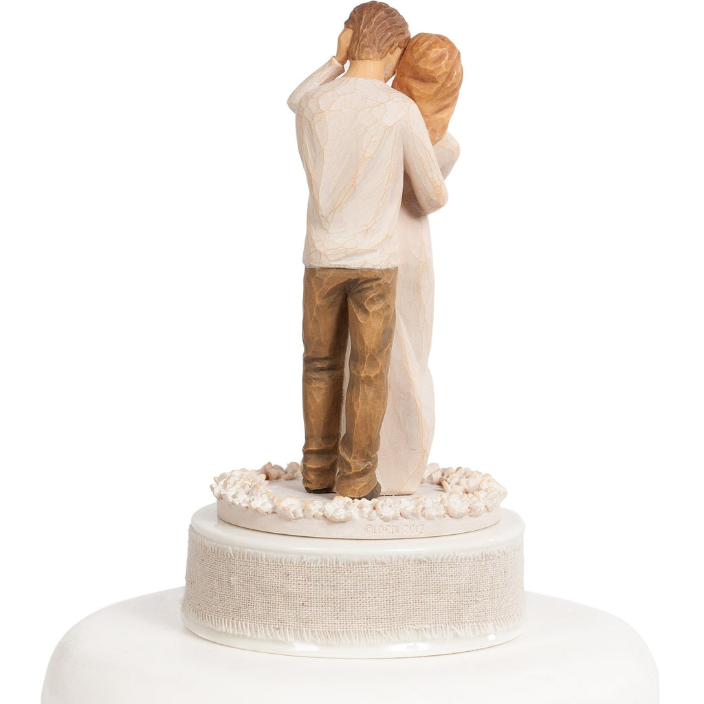 "Personalized Willow Tree ® ""Together"" Wedding Cake Topper"