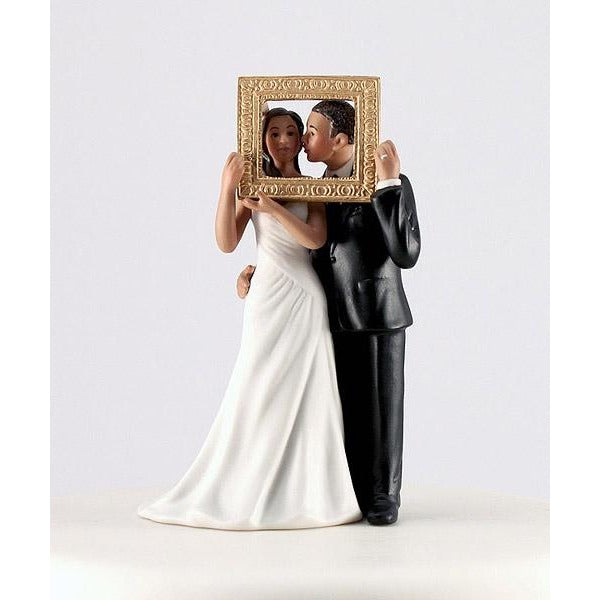 """Picture Perfect"" Couple Figurine- Medium Skin Tone"