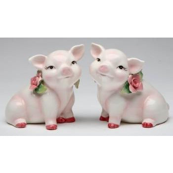 Pig Wedding Cake Topper Figurine