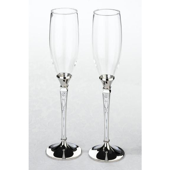 Retro Toasting Glasses