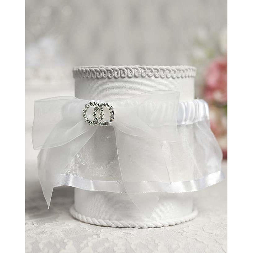Rhinestone Rings Wedding Garter