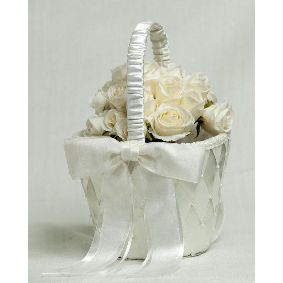 Ribbon Flower Basket