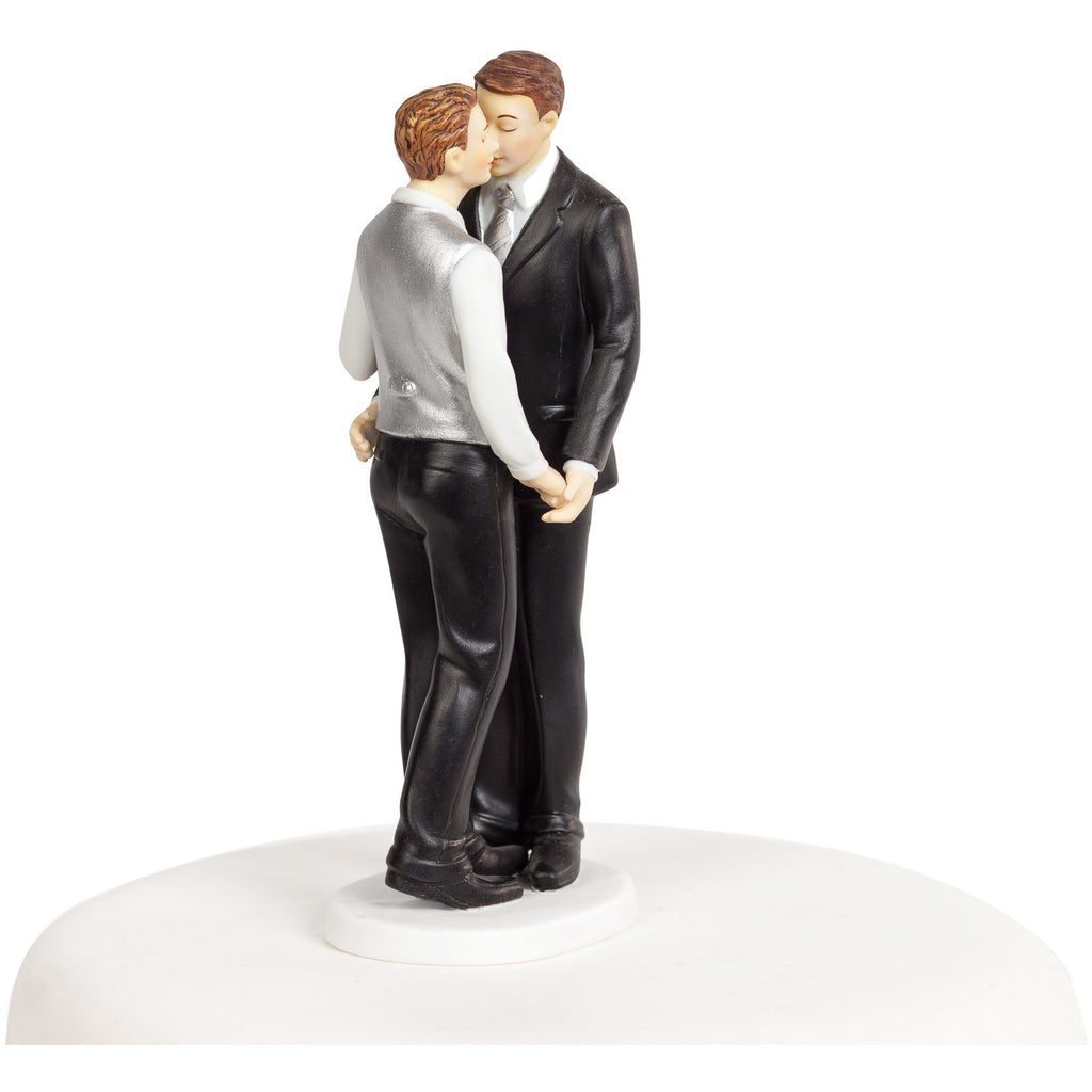 """Romance"" Gay Wedding Cake Topper"