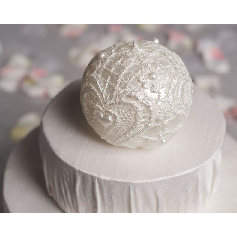 Round Wedding Favor Candle