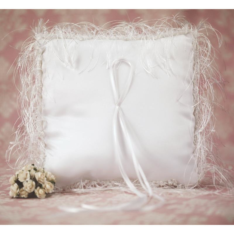 Satin and Silk Wedding Ring Bearer Pillow